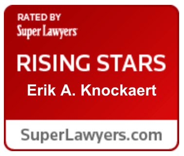 Super Lawyers Rising Stars Erik Knockaert