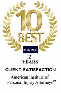 Best of American Institute of Personal Injury Attorneys Client Satisfaction